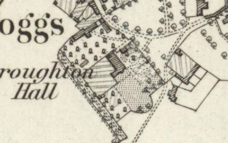 Broughton Hall, Broughton Poggs