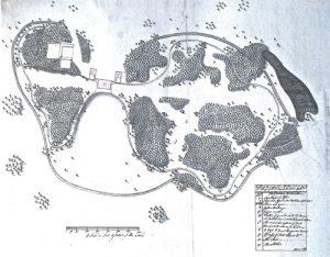 Capability Browne's Design for Kirtlington Park
